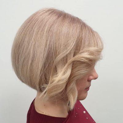 blond welle vorne